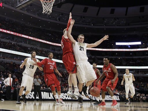Nebraska holds off Purdue 57-55 in Big Ten