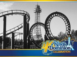 Kings Dominion To Celebrate 40 Years of Family Fun, Thrills and Memories