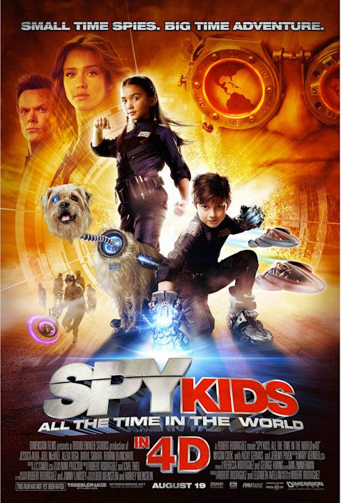 Spy Kids All the Time in the World 2011 Poster Dimension Films