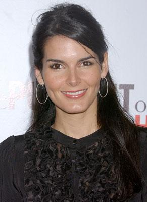 Angie Harmon at the Los Angeles premiere of Columbia Pictures' The Pursuit of Happyness
