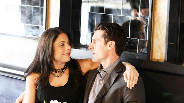 "Bethenny Frankel and Jason Hoppy in the ""Bethenny's Rehearsal Brunch"" episode on ""Bethenny's Getting Married?"""
