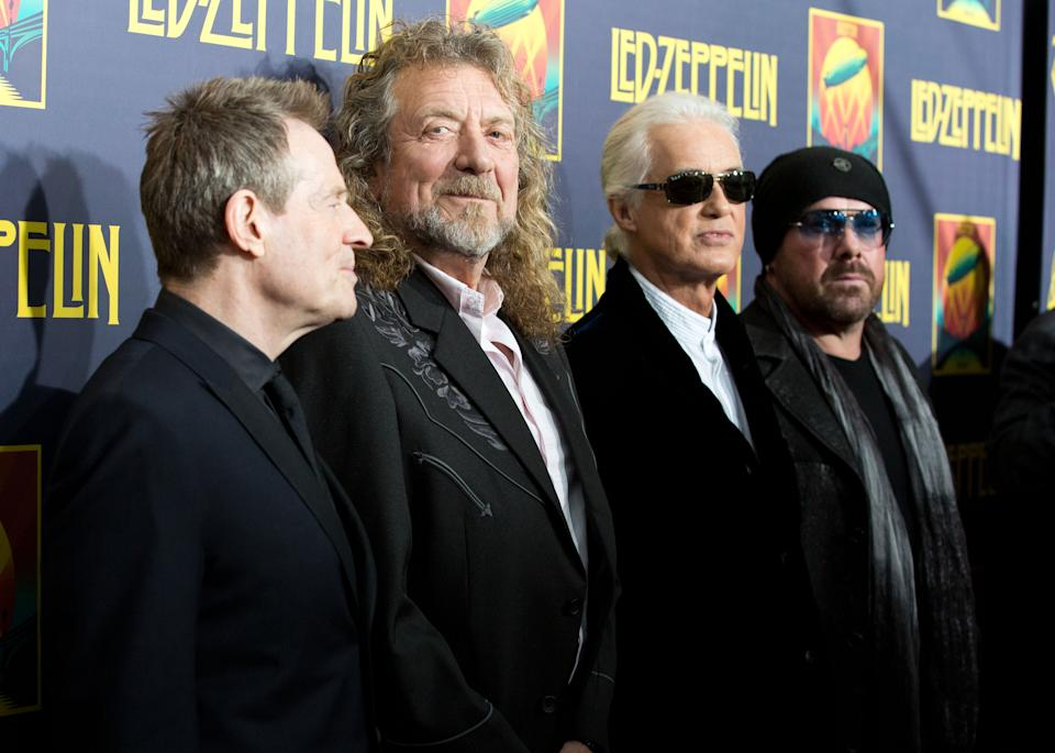 Bill Clinton tried to broker Led Zeppelin reunion