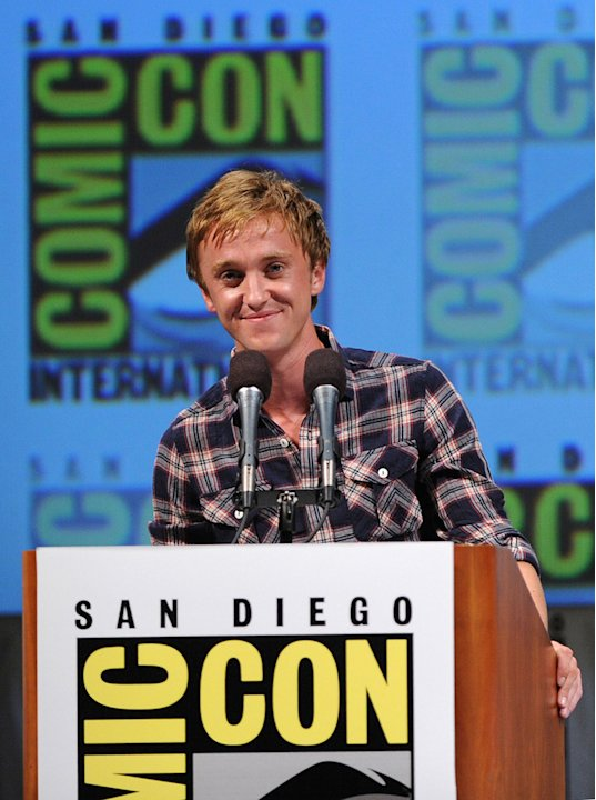 2010 Comic Con Panels Tom Felton