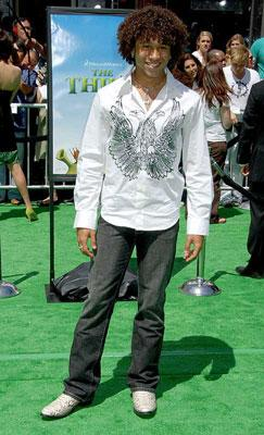 Corbin Bleu at the Los Angeles premiere of DreamWorks' Shrek the Third