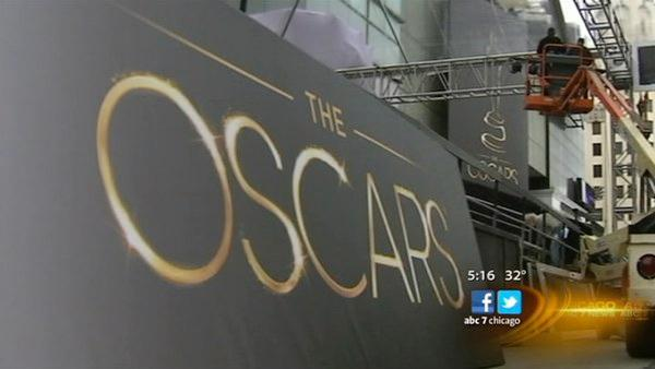 Oscar preps underway in Hollywood