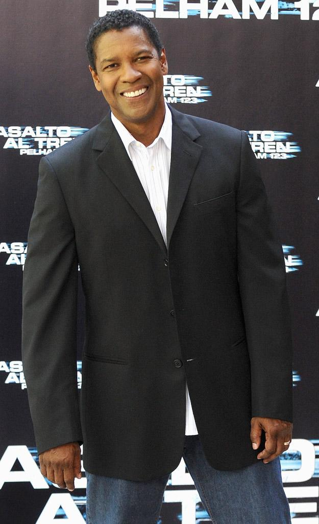 Denzel Washington Denzel Washington Attends The Taking Of The Pelham