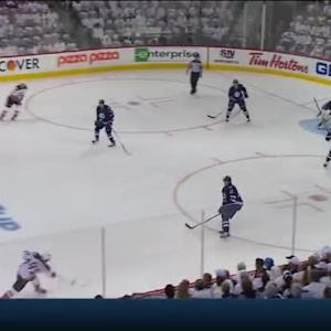 Ondrej Pavelec Save on Ryan Getzlaf (05:09/1st)
