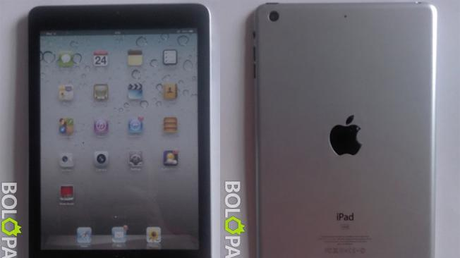 New iPad mini photos appear to firm up earlier leaks