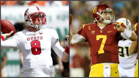 Glennon vs. Barkley: QB Draft Battle