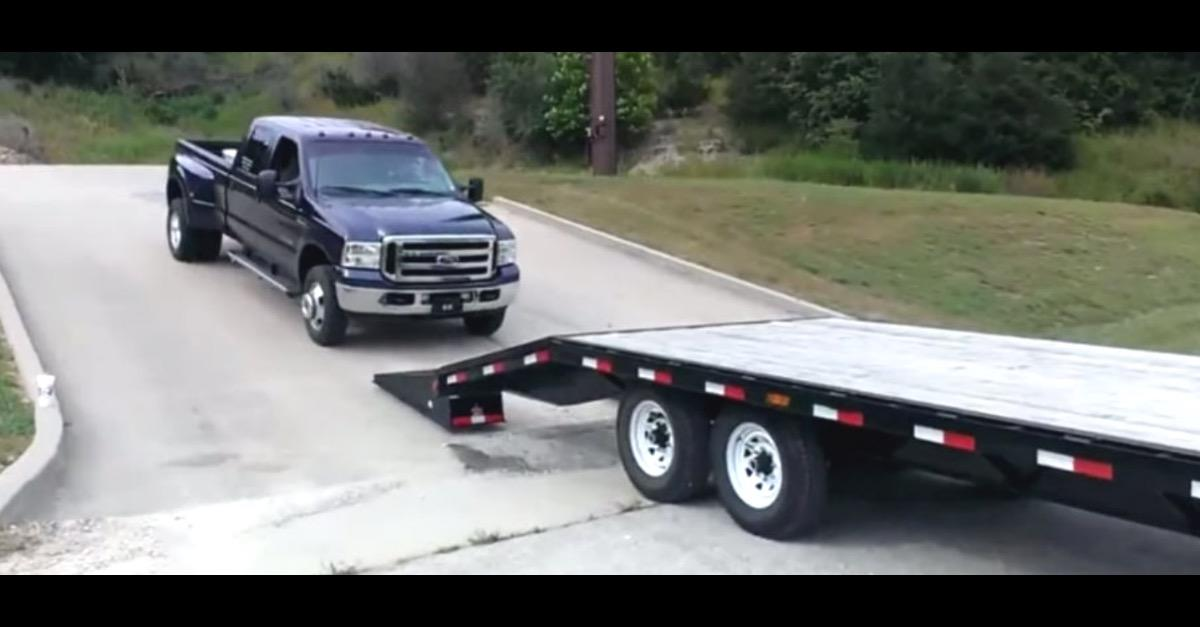 Guy Tries To Load Brand New Truck: Fails Miserably