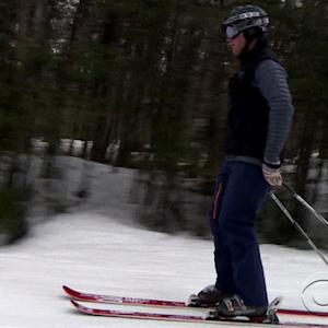 A tale of two winters for skiiers in Northeast and West