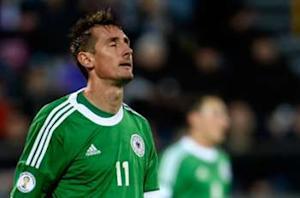 Klose a doubt for Germany friendlies