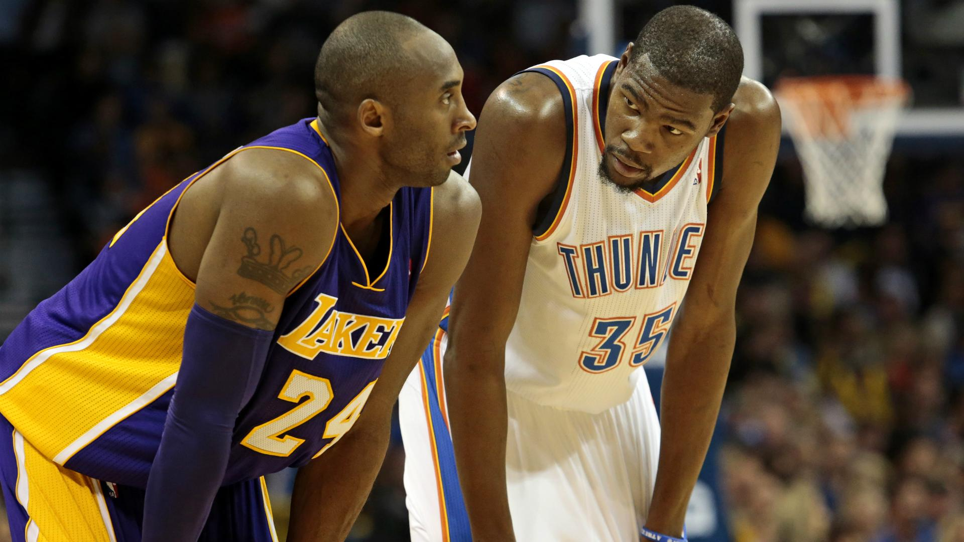 Durant hits out at media: You guys have treated Bryant like s***