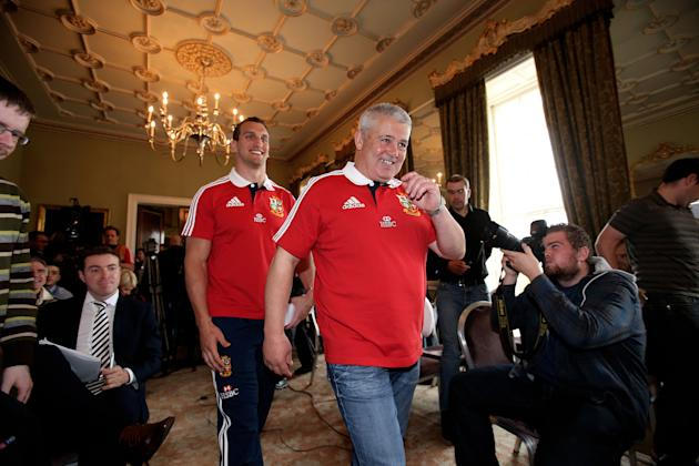 Rugby Union - British and Irish Lions Press Conference - Carton House