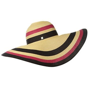 Stripey Floppy Hat House of Fraser: Beach