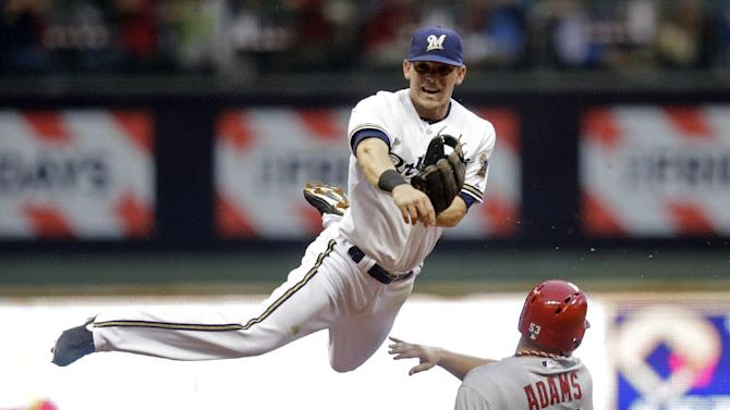 Lohse, Brewers beat Cardinals 6-3