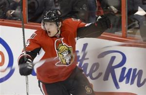 Senators top Devils in shootout