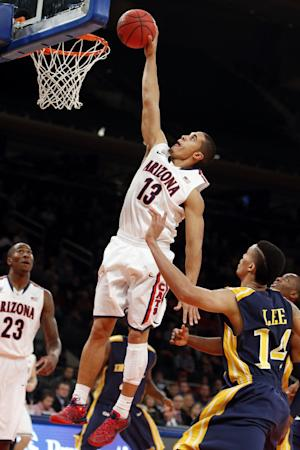 No. 4 Arizona beats Drexel 66-62