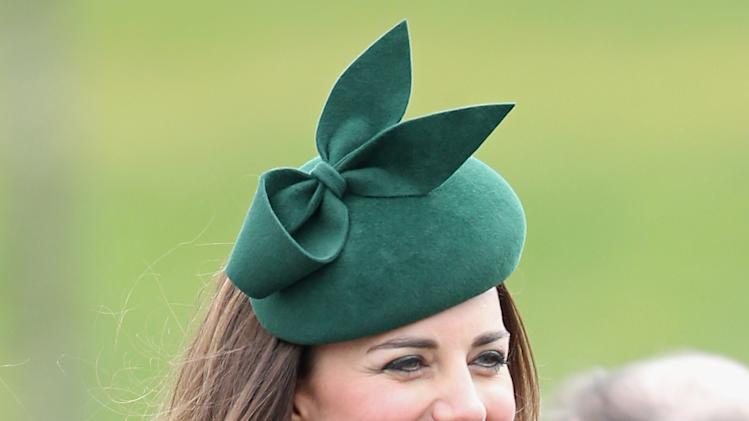 The Duke And Duchess Of Cambridge Attend The St Patrick's Day Parade At Mons Barracks, Aldershot