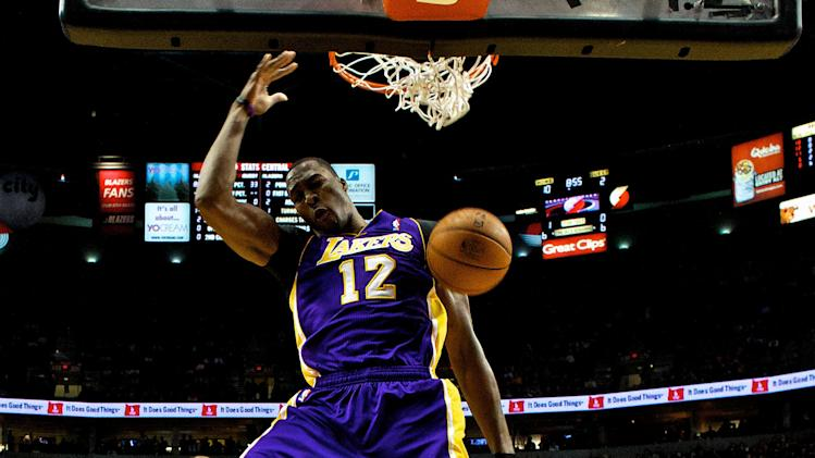 NBA: Los Angeles Lakers at Portland Trail Blazers