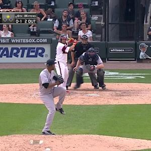 Melky's RBI single