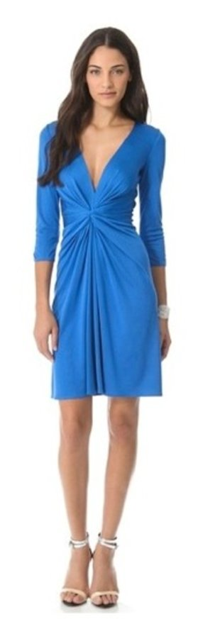 Twist Front Dress, $595, Issa, shopbop.com
