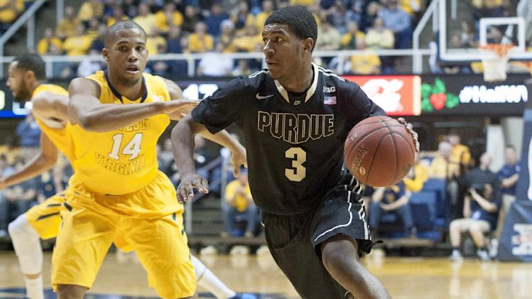 Purdue sneaks past West Virginia 73-70