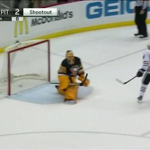 Patrick Kane Goal on Marc-Andre Fleury (00:00/SO)