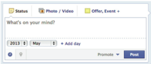 Facebook Posting Options   Beginners Guide image Screen shot 2013 01 31 at 1.57.27 PM