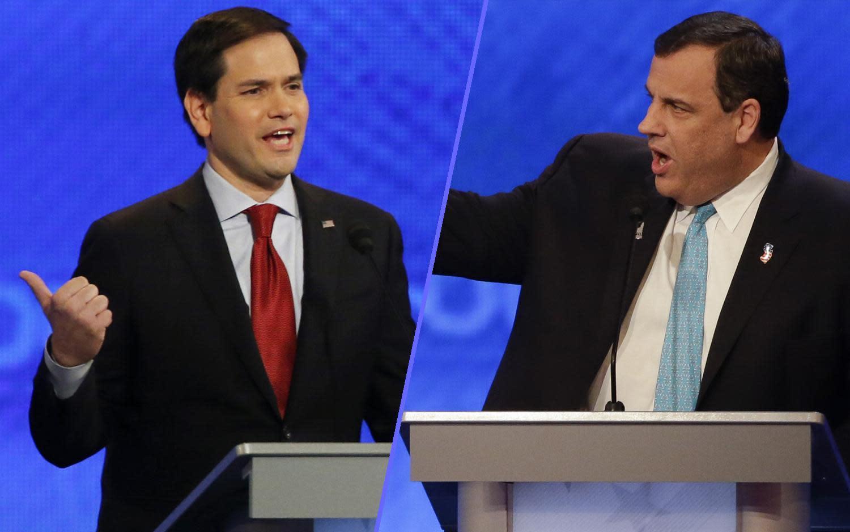 Chris Christie's attacks rattle Marco Rubio