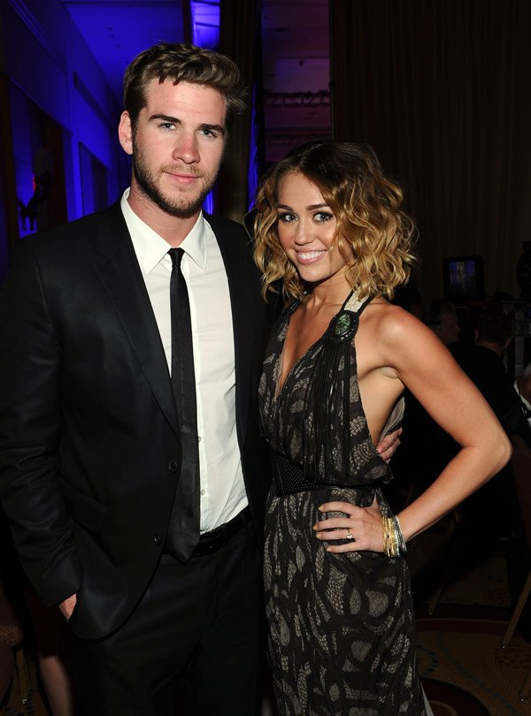 Miley Cyrus &amp; Liam Hemsworth Engaged &#x2014; Congrats