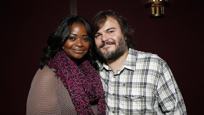 "Octavia Spencer and Jack Black attend a celebration for ""Bernie"" by Millennium Entertainment on Tuesday Oct. 30, 2012, in Los Angeles.  (Photo by Todd Williamson/Invision for Millennium Entertainment/AP Images)"