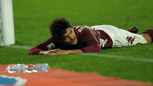 2013, Torino-Sampdoria, Barreto