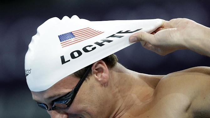 US swimmer Ryan Lochte prepares for a training session ahead of the FINA Swimming World Championships in Barcelona, Spain, Saturday, July 27, 2013. (AP Photo/David J. Phillip)