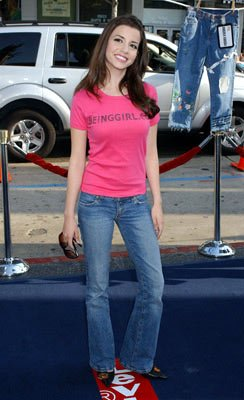 Masiela Lusha at the Hollywood premiere of Warner Bros. Pictures' The Sisterhood of the Traveling Pants