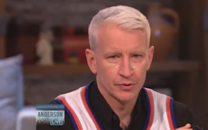 This Is Anderson Cooper with Bird Poop on His Face