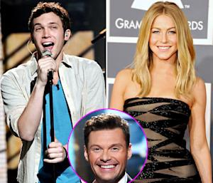American Idol: Ryan Seacrest's Girlfriend Julianne Hough Has a Crush on Phillip Phillips