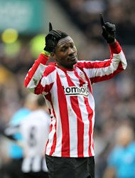 Asamoah Gyan looks set to be leaving Sunderland for good