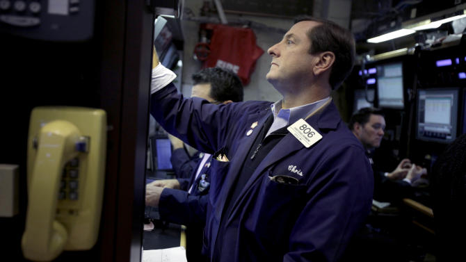 "Stocks gain on ""cliff"" hope, led by banks"