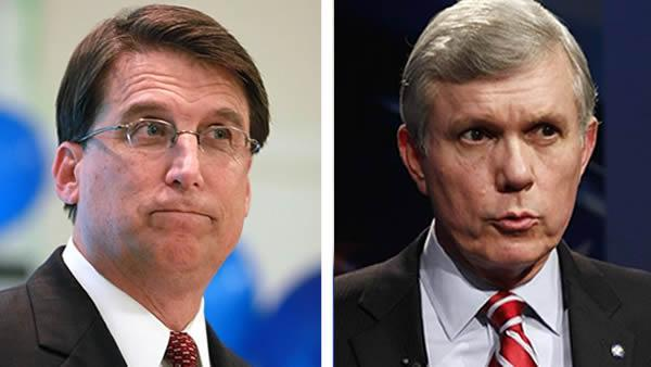 McCrory wins NC governor's race
