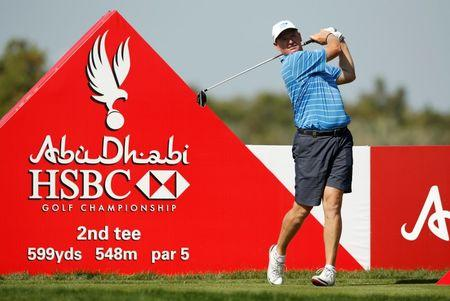 Golf: Els rediscovers form in Dubai, McIlroy slips off pace