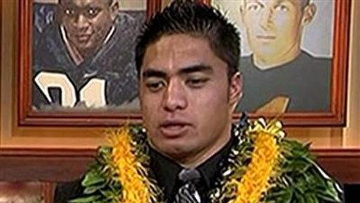 Manti Te'o 'Never, Ever' Part of Hoax