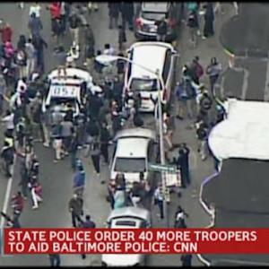 40 More Troopers Called to Aid Baltimore Police