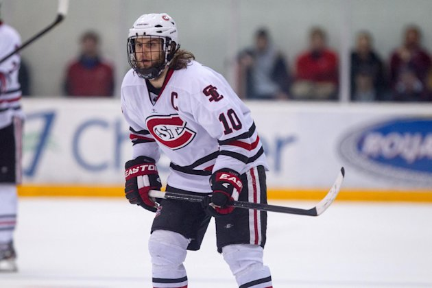 NCAA: Puck Daddy Chats With St. Cloud State's Ben Hanowski About Iginla Trade, Frozen Four And 'Locks Of Love'