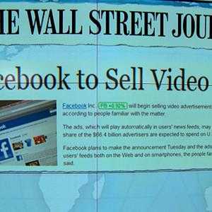 Headlines at 8:30: Facebook to sell video ads