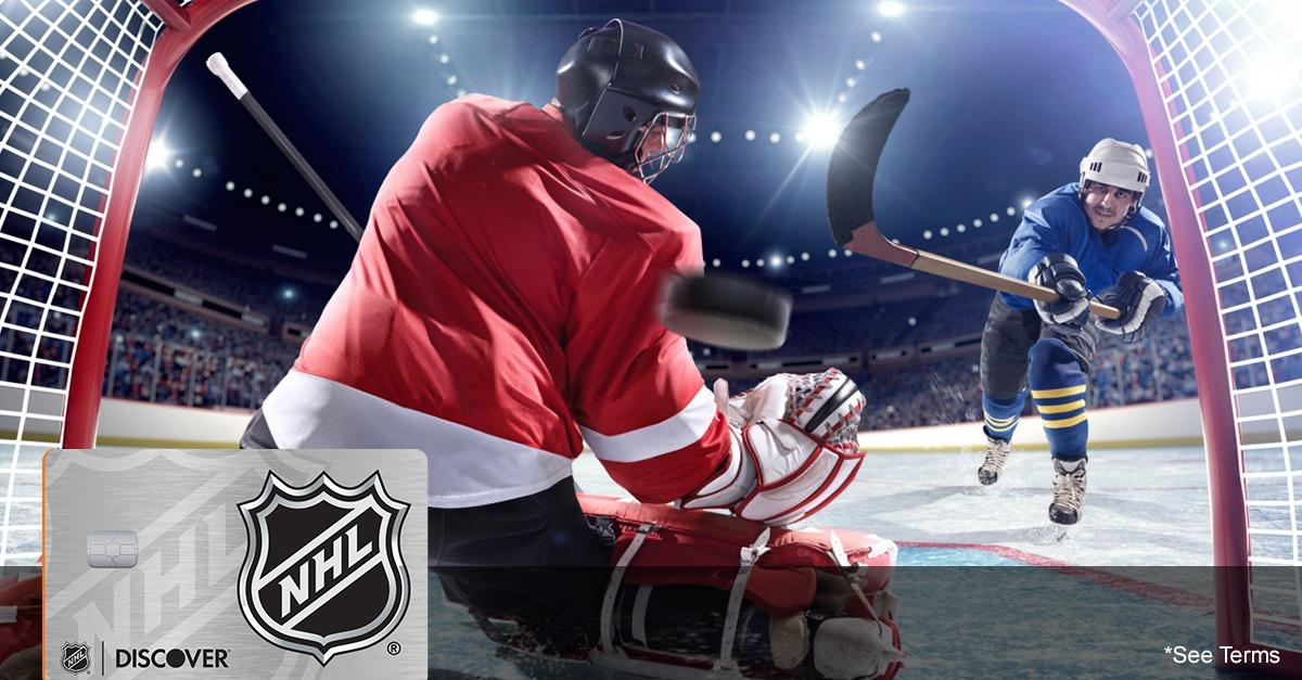 The Card For Serious Fan's: NHL® Discover it®