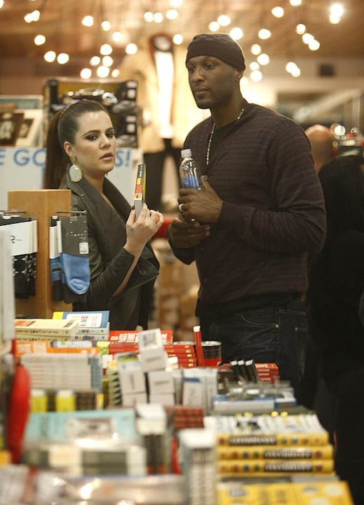 Kardashian Odom Shopping