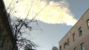 Russian Meteor Explosion Outshone Sun