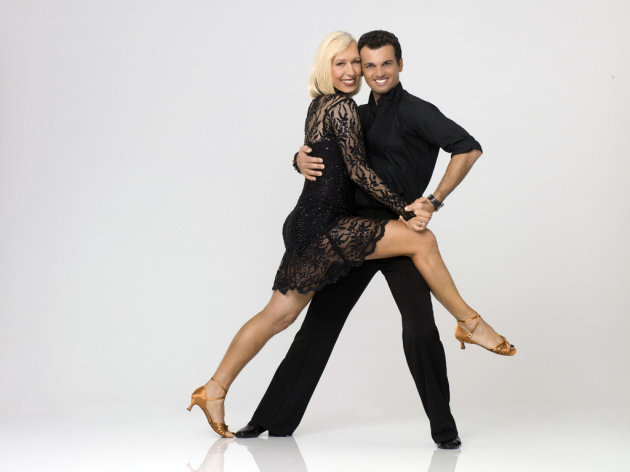 "Martina Navratilova teams with professional dancer Tony Dovolani on Season 14 of ""Dancing With the Stars."""