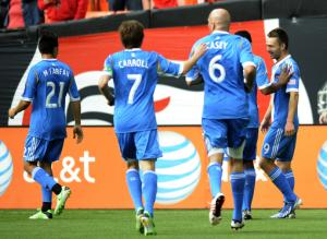 Union end home winless streak; beat Red Bulls 3-1